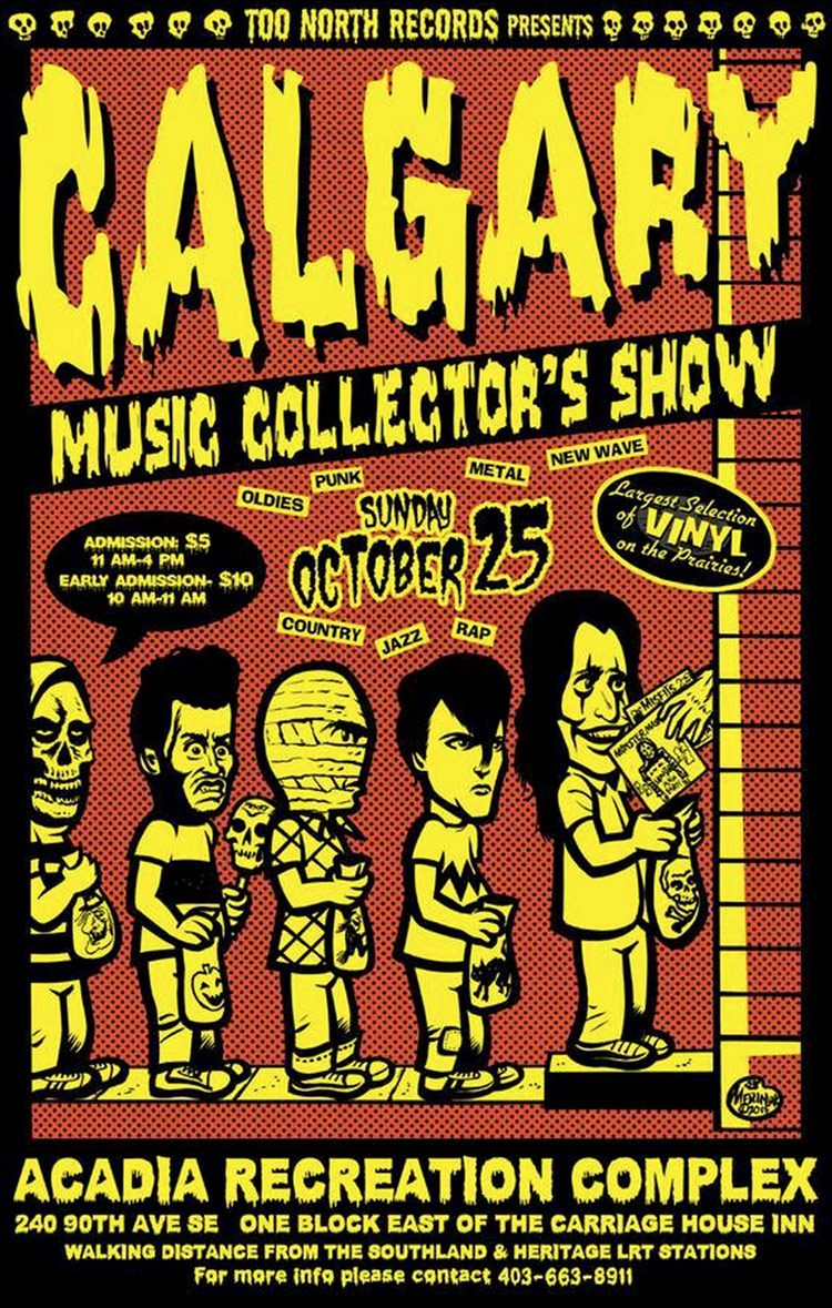 Calgary Music Collectors Show