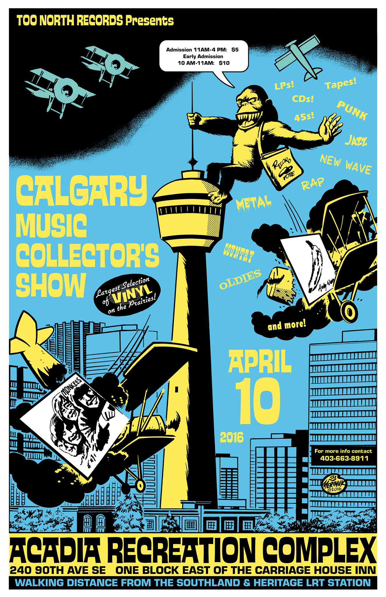 Calgary Music Collectors Show April 10 2016
