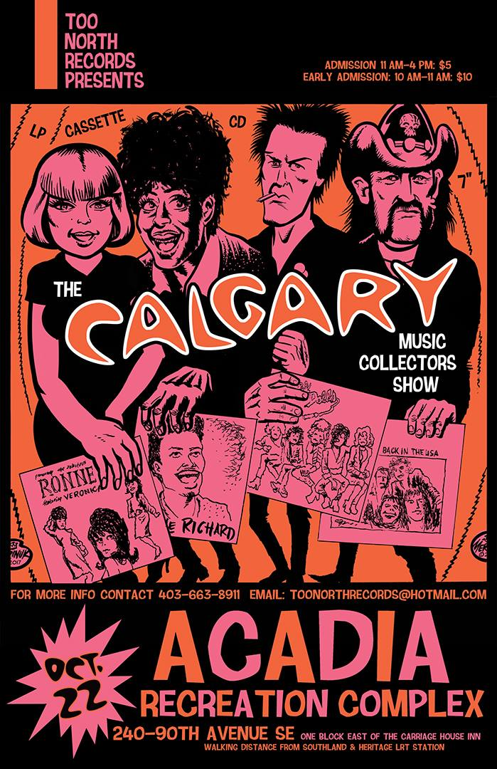 Calgary Music Collectors Show October 22 2017