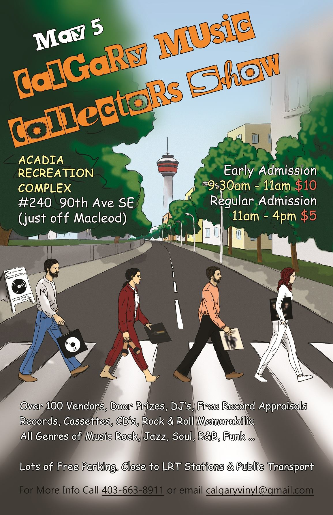 Calgary Music Collectors Show May 5 2019