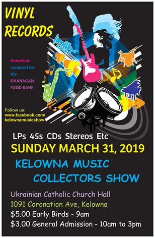 Kelowna Music Collectors Show