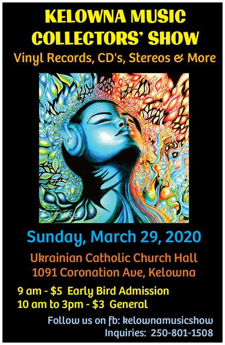 Kelowna Music Collectors Show 2020